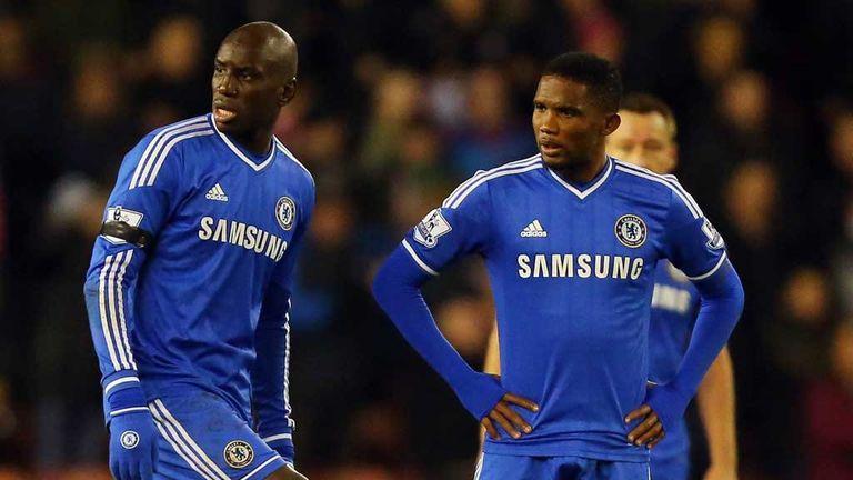 Demba Ba and Samuel Eto'o: Shruged off Jose Mourinho's comments