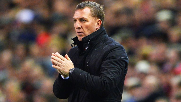 Brendan Rodgers: Has urged Liverpool to secure a top-four finish