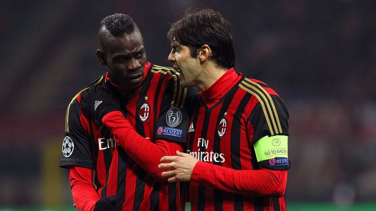 Kaka (right): Expects Milan to bounce back