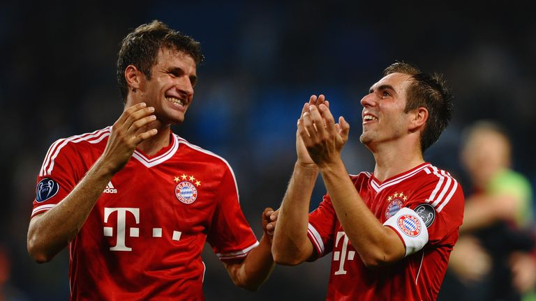 Thomas Muller and Philipp Lahm: New deals at Bayern