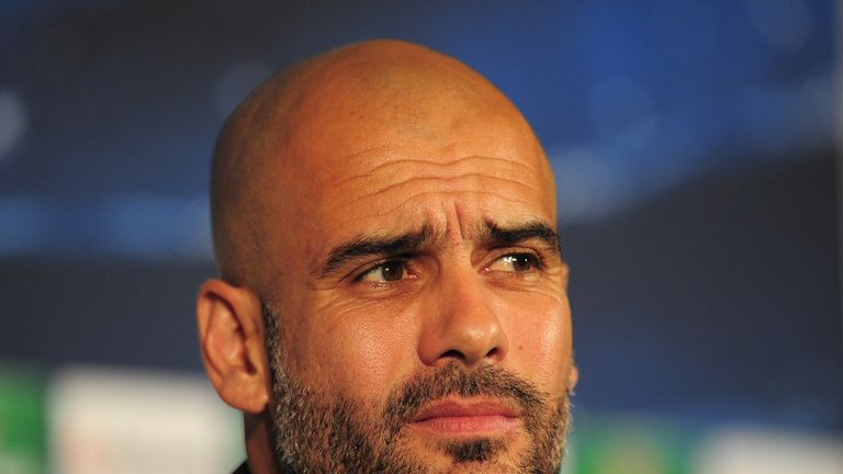 Pep Guardiola: The Bayern Munich boss insists it is still an honour to face Manchester United