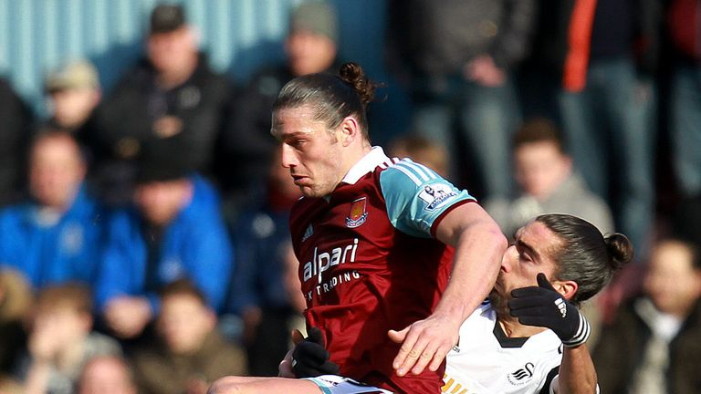 Carroll: Sent off after tangle with Chico