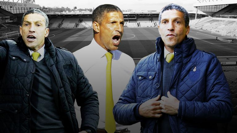 Chris Hughton: 'What you have to be able to do is work and manage around your own personality'