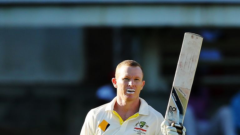 Chris Rogers: Australia opener celebrates a century against South Africa