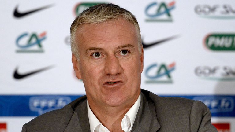 Didier Deschamps: Announces his France squad on Thursday