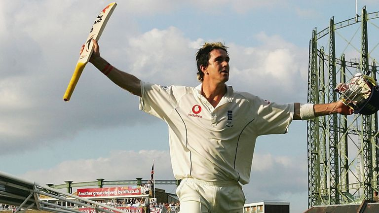 Kevin Pietersen: Ashes-clinching hundred at The Oval in 2005