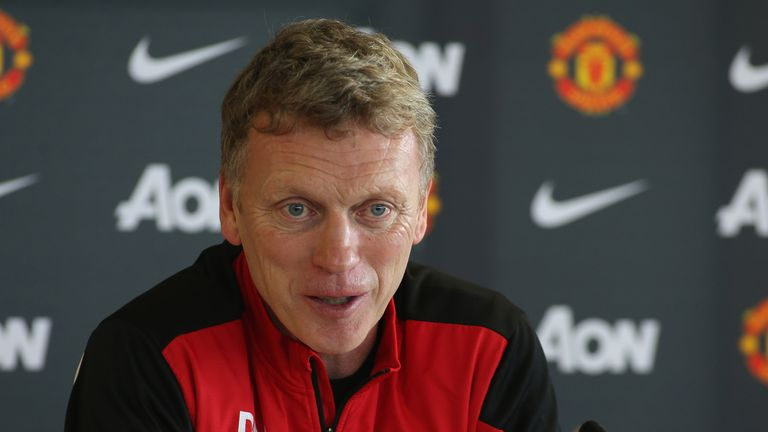 David Moyes: In no mood for a lengthy press briefing