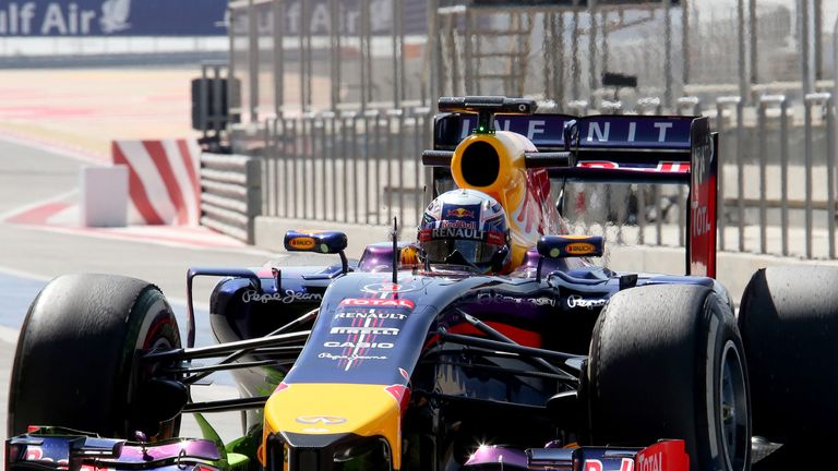 The RB10 only completed 28 laps on Day Three in Bahrain