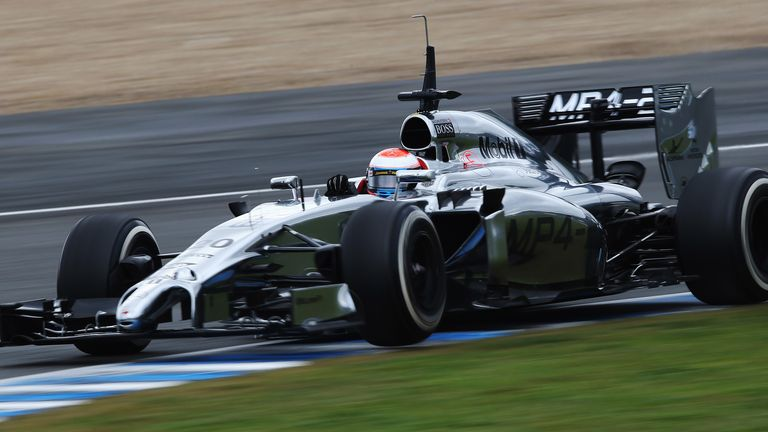 Kevin Magnussen: Driving on first two days