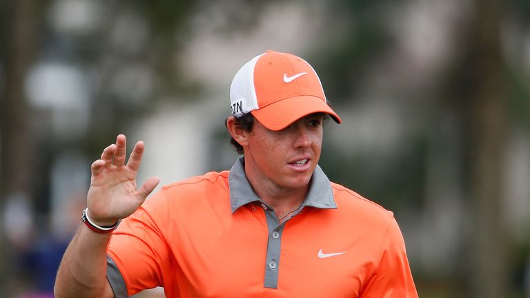 Rory McIlroy: Northern Irishman hit form on day one at PGA National