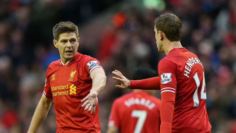 Steven Gerrard and Jordan Henderson: Backed for England by Paul Scholes