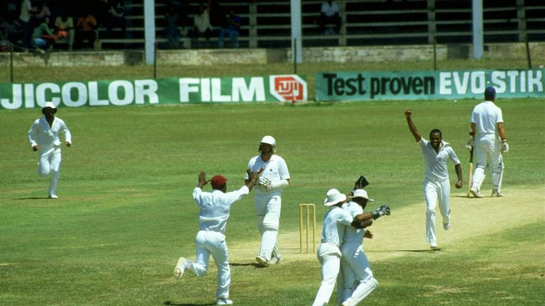 England lost the Test series 5-0 on their 1986 tour