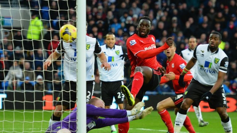Kenwyne Jones fired home the winner on his Cardiff City debut