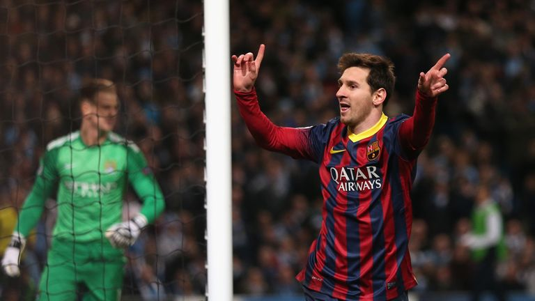 Lionel Messi: Barcelona superstar is now the club's all-time record scorer