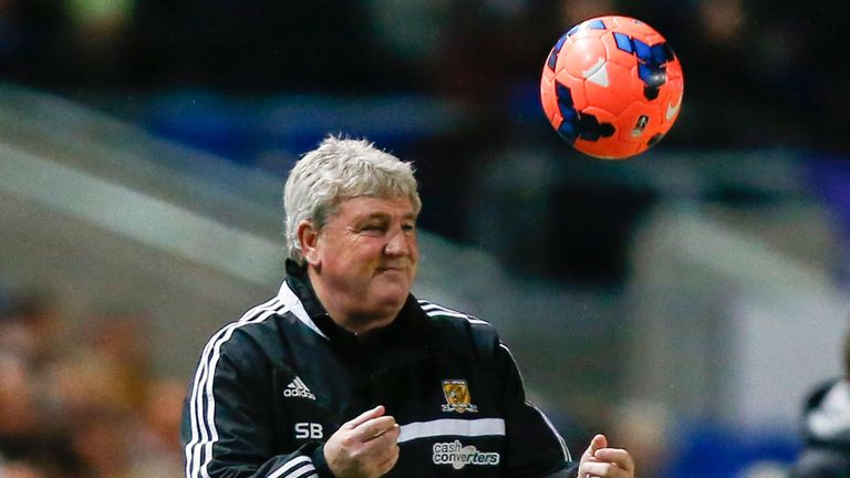Steve Bruce: Two more wins should see Hull safe