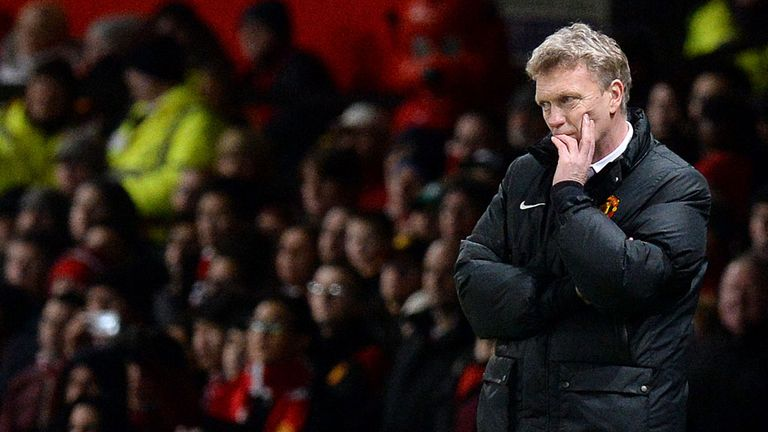 David Moyes: Manchester United boss coming under increasing pressure