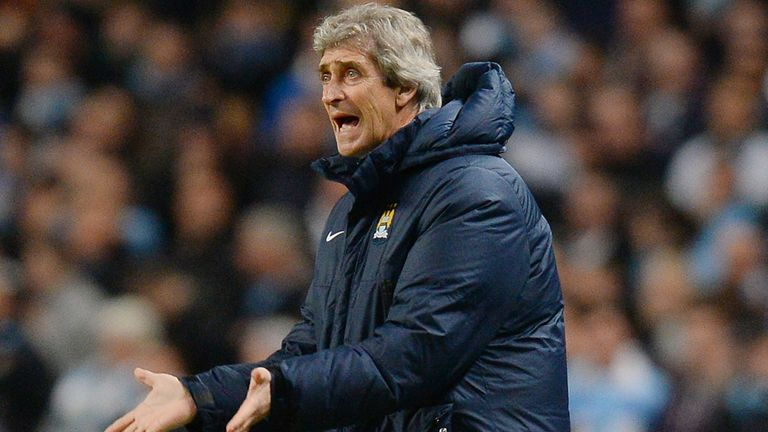 Manuel Pellegrini: During Tuesday's home defeat to Barcelona