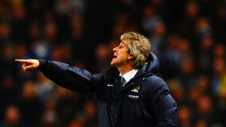 Manuel Pellegrini: Saw City lose 1-0 to Chelsea