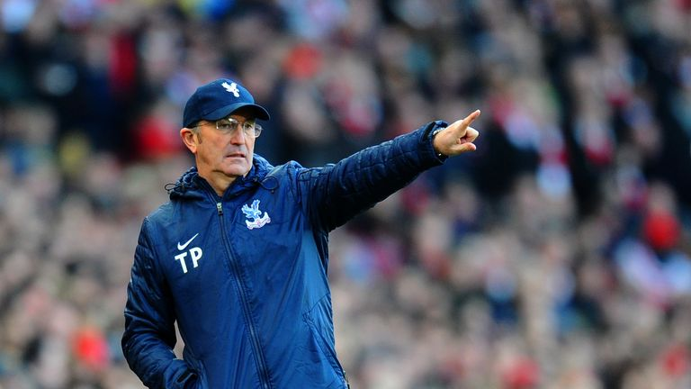 Tony Pulis: Looking to guide Crystal Palace clear of relegation danger