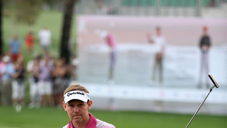 Stephen Gallacher: Scot played his final 10 holes on Saturday in 10 under