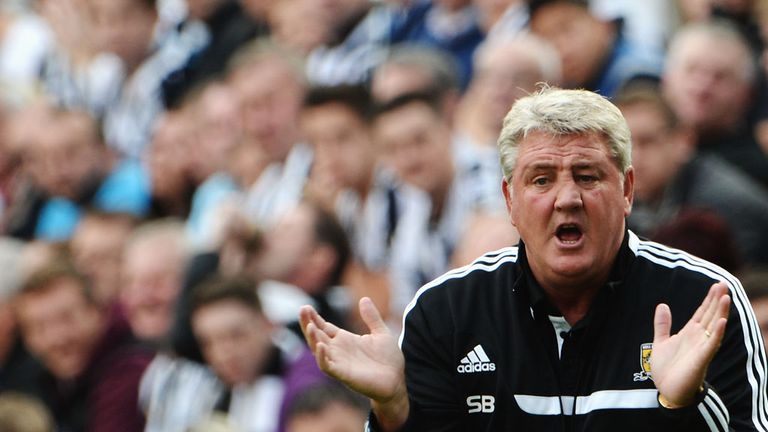 Steve Bruce: Delighted with options