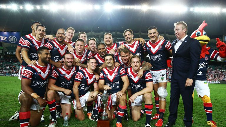 Sydney Roosters won the 2014 World Club Challenge after beating Wigan Warriors