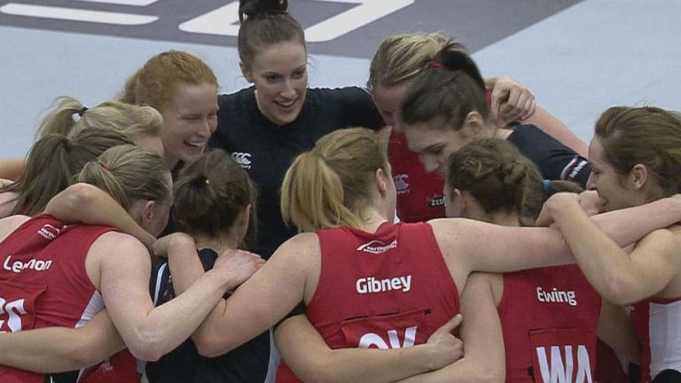 Team Northumbria: Three-match winning run ended by Hertfordshire Mavericks