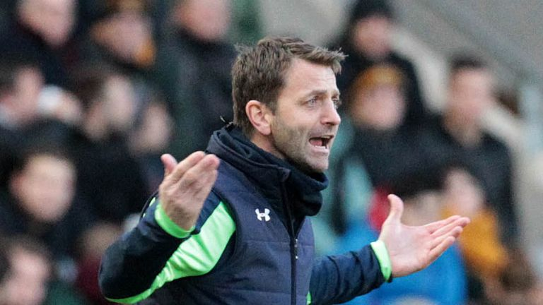 Tim Sherwood: Will see his Spurs side in action tonight despite Ukraine unrest
