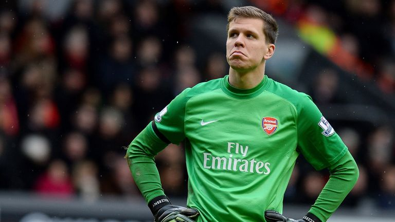 Wojciech Szczesny: Still confident of Arsenal's title chances