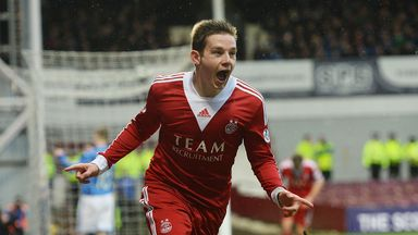 Peter Pawlett: Fit to feature for Aberdeen in League Cup final against Inverness