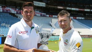 Graeme Smith and Michael Clarke: Gearing up for series decider
