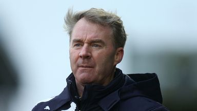 John Sheridan: Delighted with comfortable win