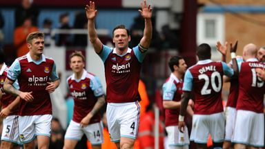 Kevin Nolan: Has scored twice in successive games
