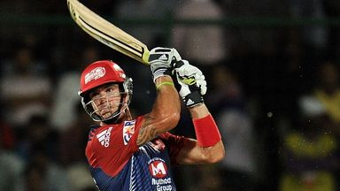 Kevin Pietersen: The Delhi batsman fired 58 but his side suffered a heavy loss