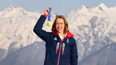 Yarnold on top of the world