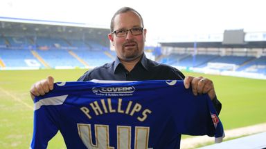 Rob Phillips: Now an official member of the Portsmouth squad
