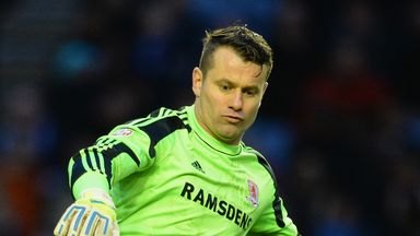 Shay Given: Aston Villa goalkeeper recently spent spell on loan with Middlesbrough