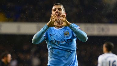 Stevan Jovetic: Has denied reports that he is unhappy at Manchester City