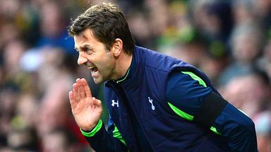 Tim Sherwood: Questioned the attitude of his players at the weekend