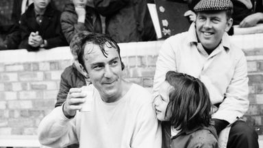 Jimmy Greaves during his playing days with Spurs