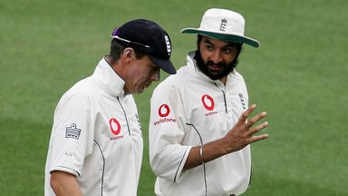 Ashley Giles and Monty Panesar were England team-mates in Australia 2006