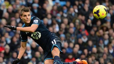 Erik Lamela is fully fit and keen to impress