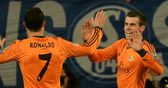 Cristiano Ronaldo and Gareth Bale star in Real Madrid's 6-1 win over Schalke