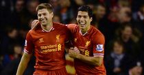 Steven Gerrard and Luis Suarez: Both on Player of the Year shortlist