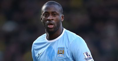 Toure in trophy admission