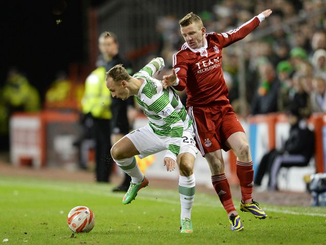 Leigh Griffiths is put under pressure