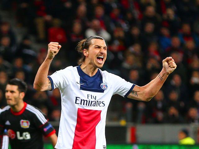 Zlatan Ibrahimovic scored twice as PSG slammed Bayer Leverkusen