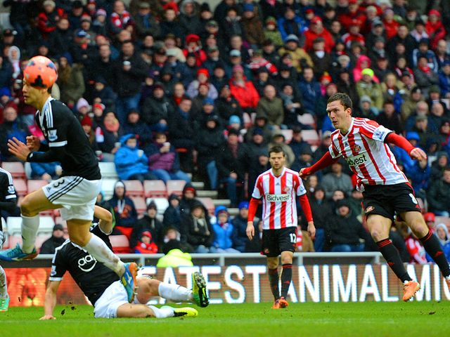 Craig Gardner lashes home Sunderland's winner