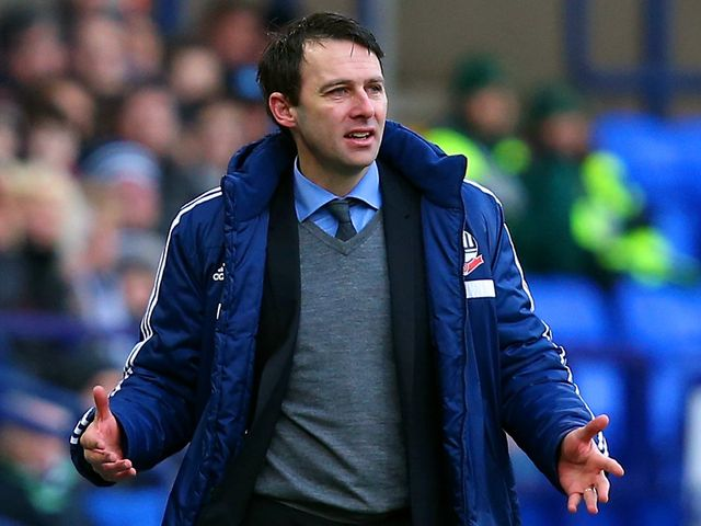 Dougie Freedman: Frustrated with a draw