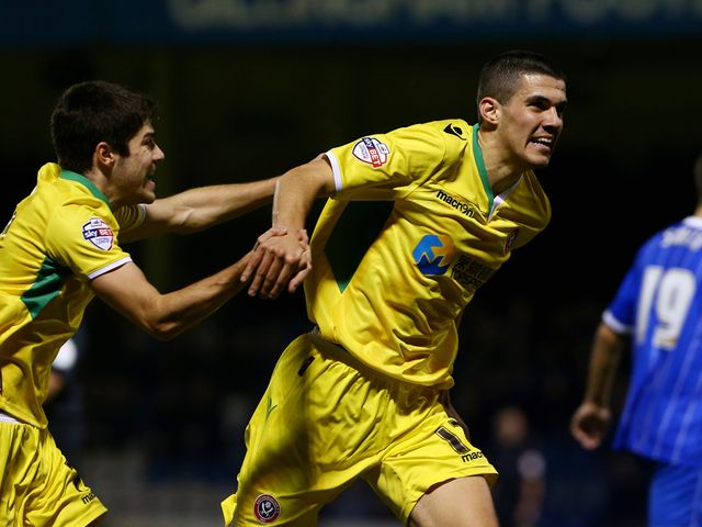 Conor Coady celebrates his winner